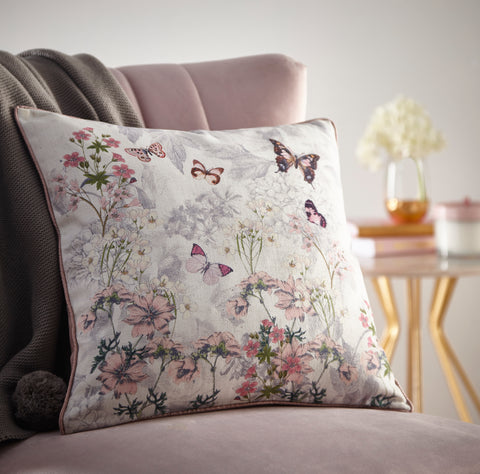 Oasis Botanical Bouquet Cushion