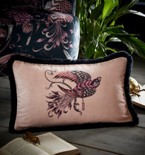 Load image into Gallery viewer, Emma Shipley Audubon Boudoir Velvet Bolster Cushion