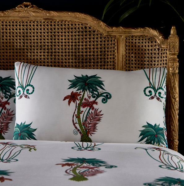 Emma Shipley Jungle Palms Standard Pillowcase Pair