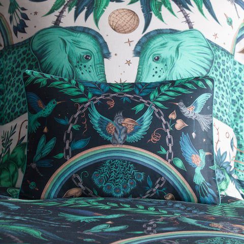 Emma Shipley Zambezi Boudoir Pillowcase Teal
