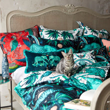 Load image into Gallery viewer, Emma Shipley Zambezi Boudoir Pillowcase Teal