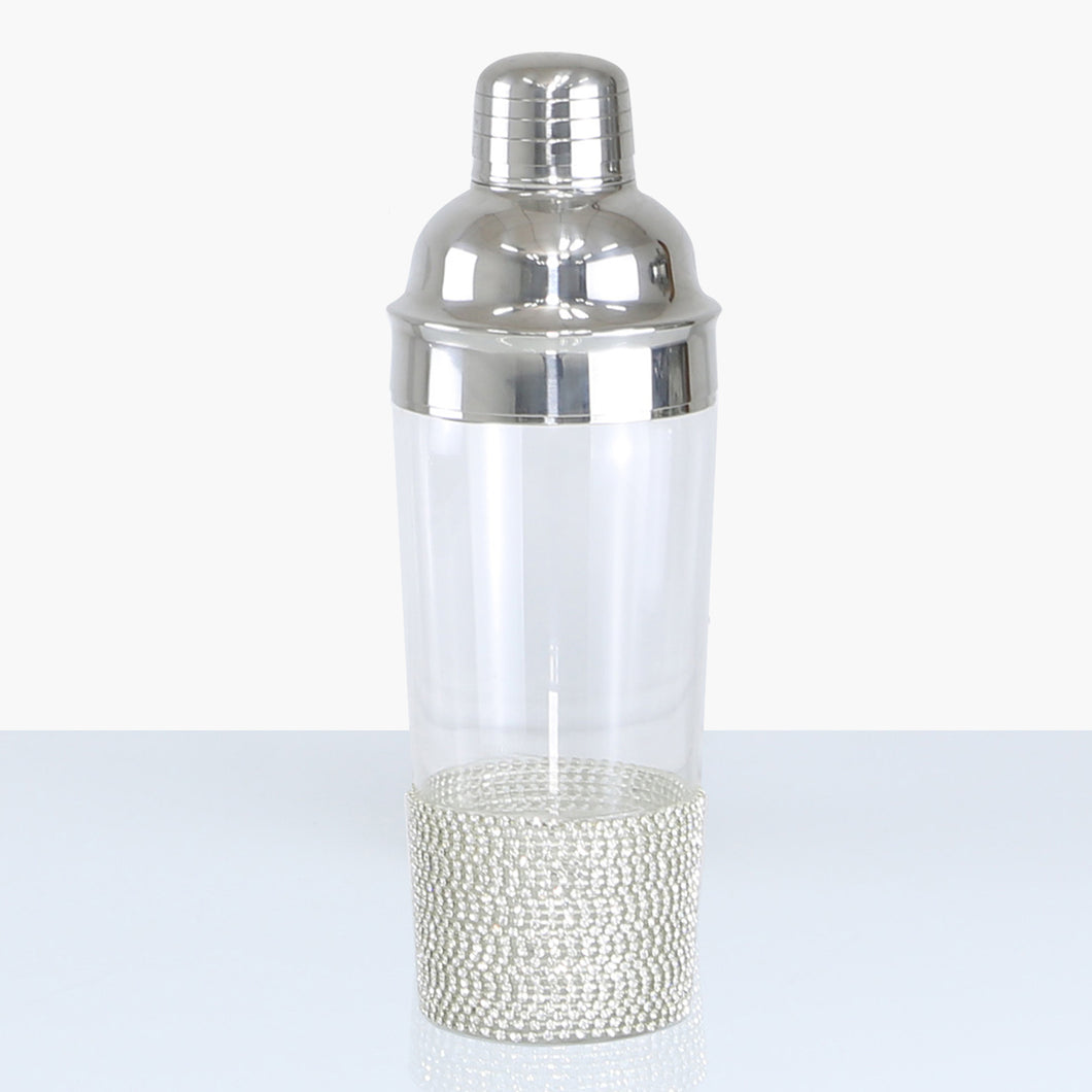 Silver Milano Cocktail Shaker