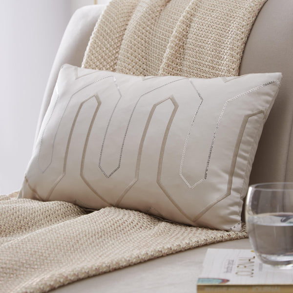 Phoebe Champagne Cushion Cover 30x50cm