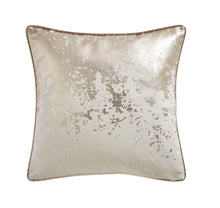Load image into Gallery viewer, Splatter Foil Print Cushion 43x43cm PRE ORDER