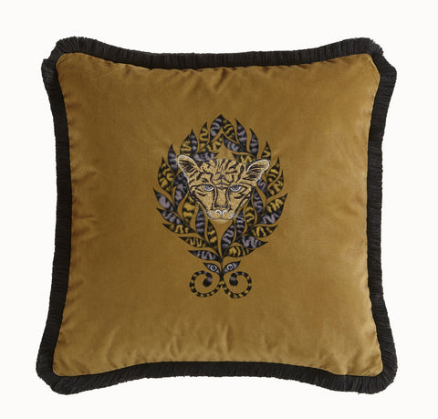 Emma Shipley Amazon Square Velvet Cushion