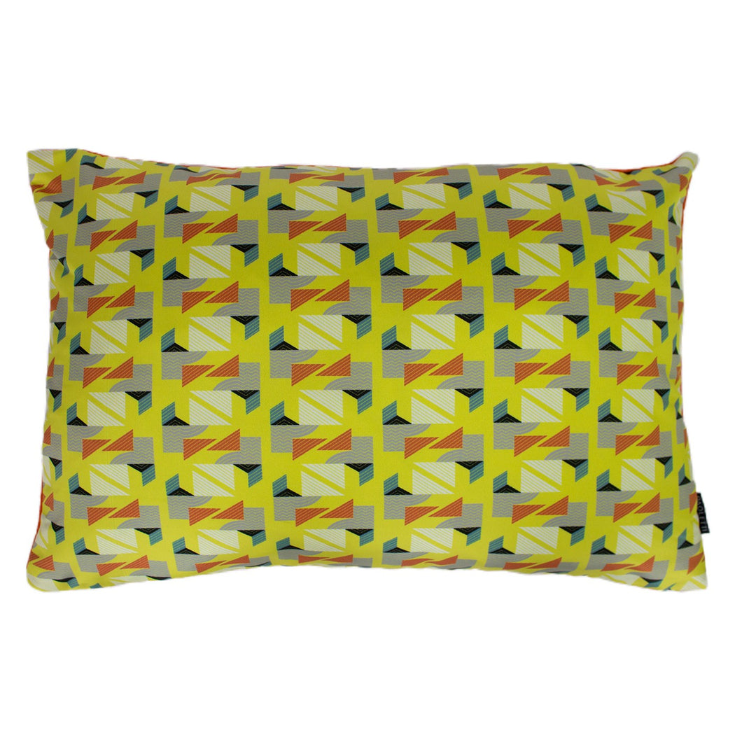 Vienna Yellow / Grey Cushion