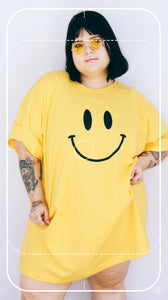 Camisetão - Smiley