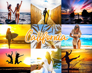 California  Mobile Lightroom Presets - Magic Preset Filters