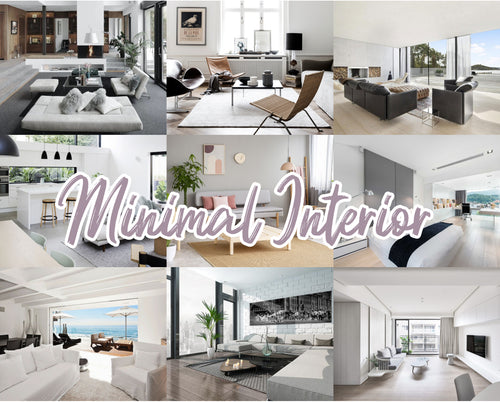 20 Minimal Interior Preset Collection Mobile/Desktop - Magic Preset Filters
