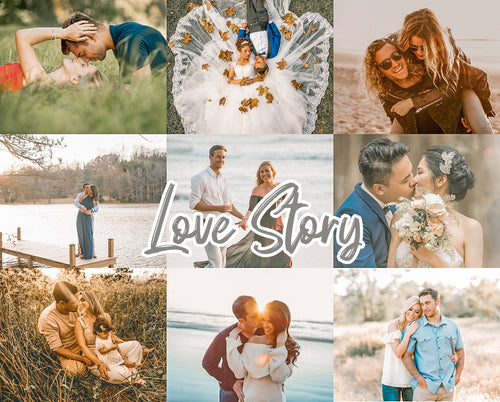 20 Love Story Desktop/Mobile Collection - Magic Preset Filters