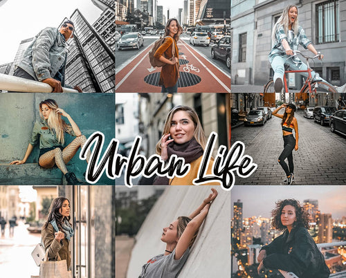 20 Urban Life Collection Mobile/Desktop - Magic Preset Filters
