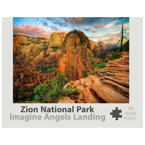 Zion Puzzle - Imagine Angels Landing 750