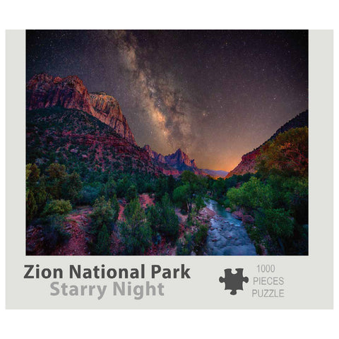Zion Puzzle - Starry Night 1000