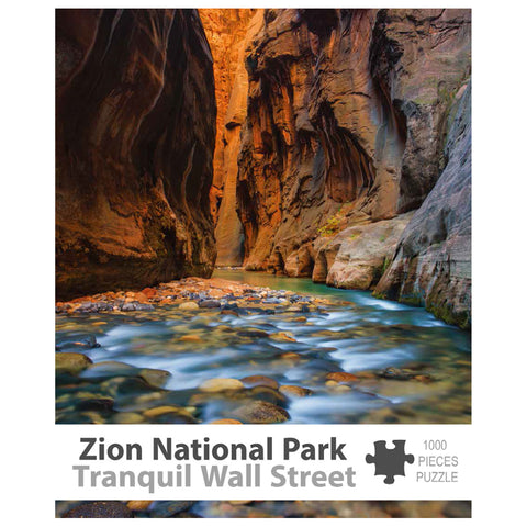 Zion Puzzle - Tranquil Wall Street 1000