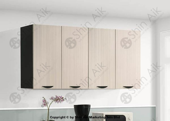 Ash & Wenge Two-Tone Modular Wall-Mounted Kitchen Cabinet (5'ft) - SA3318-511 FPD