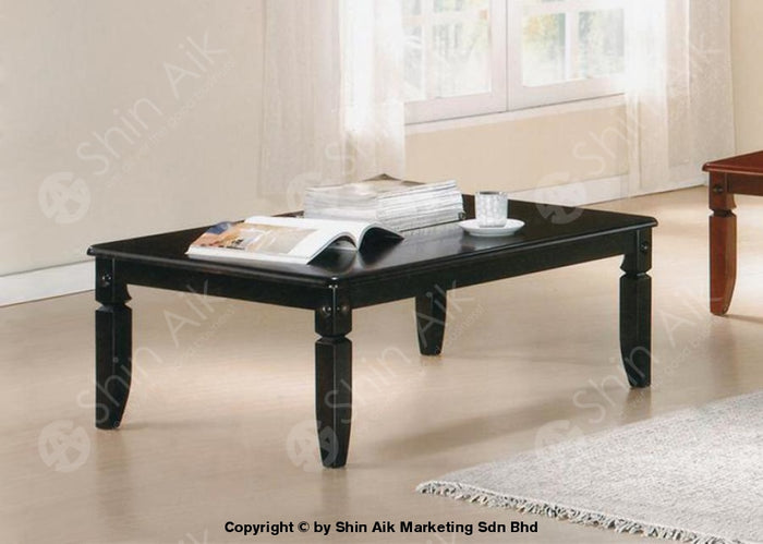 Dark Cappuccino Classic European Low Coffee Table (4'ft) - SAJP2843CUP