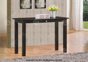 Modern Contemporary Grey Wooden Console Table (3Ft) - Sact1636Bk Entryway