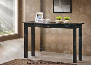 Modern Contemporary Grey Wooden Console Table (4Ft) - Sact16120Bk Entryway