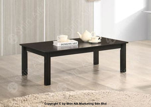 Modern Contemporary Wooden Low Table (Dark Cappuccino) - Sact67002 Living Room