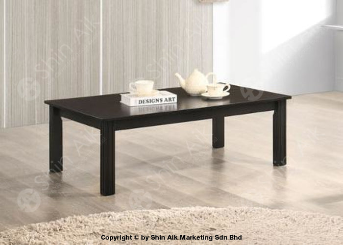 Modern Contemporary Wooden Low Table (Dark Cappuccino) - SACT67002