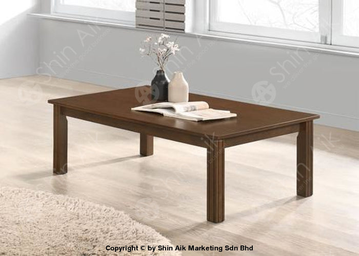 Brown Oak Japanese Low Coffee Table (4'ft) - SACT67001