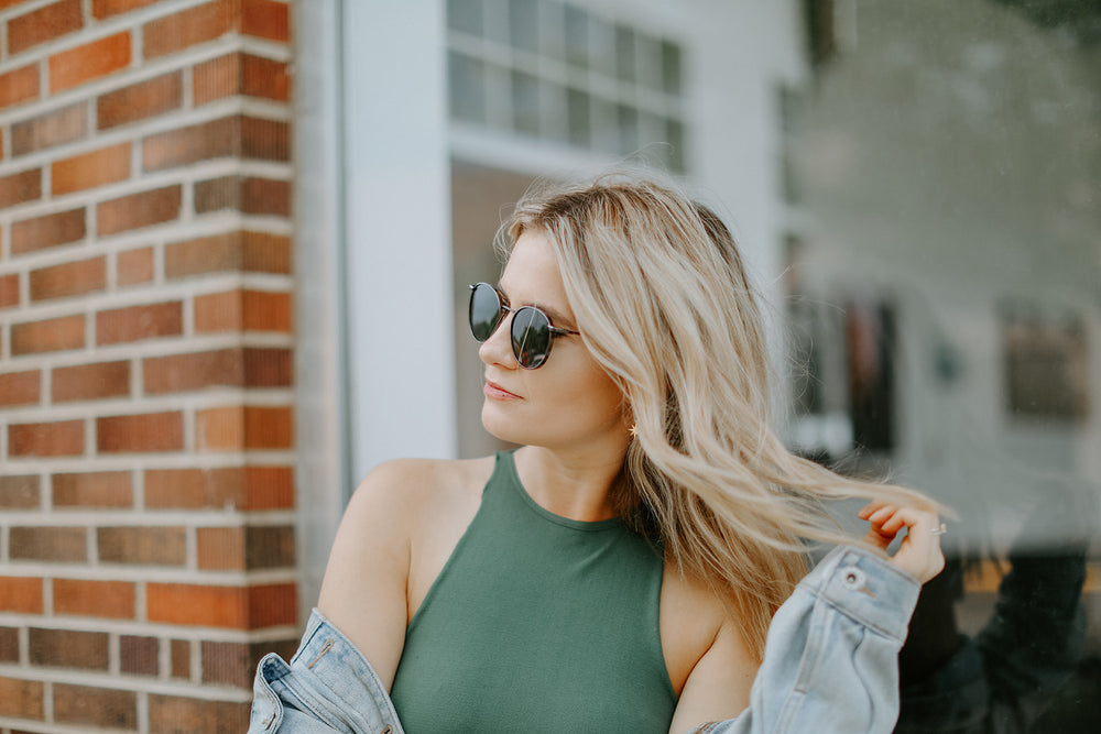 Free People: Feels Right Bodysuit (Army)