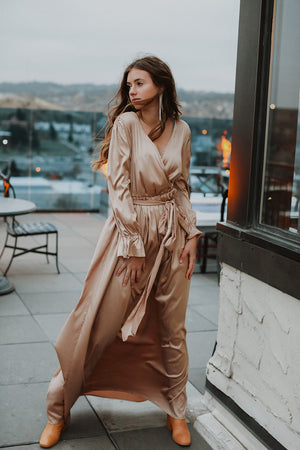 Margot Dress (Champagne)- RESTOCK 11/28
