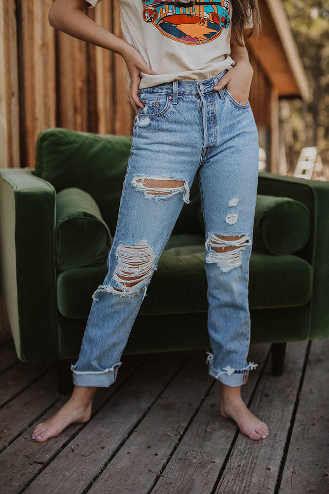 LEVI'S: 501® JEANS FOR WOMEN LUXOR STREET