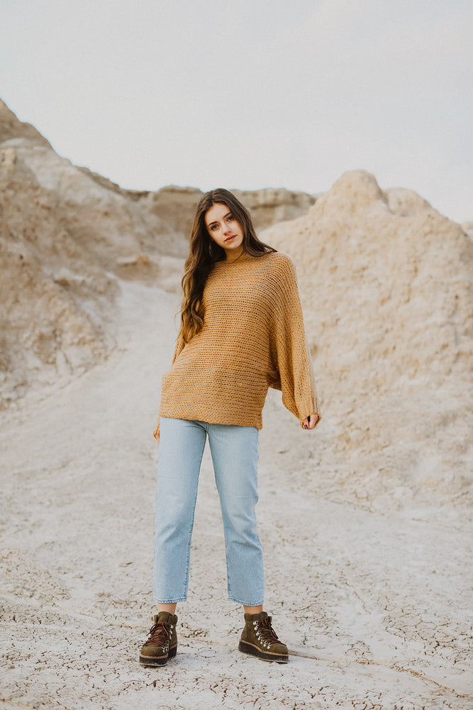 Solution Dolman Knit Sweater