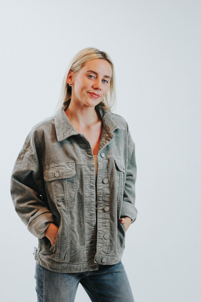 The Jane Cord Trucker Jacket