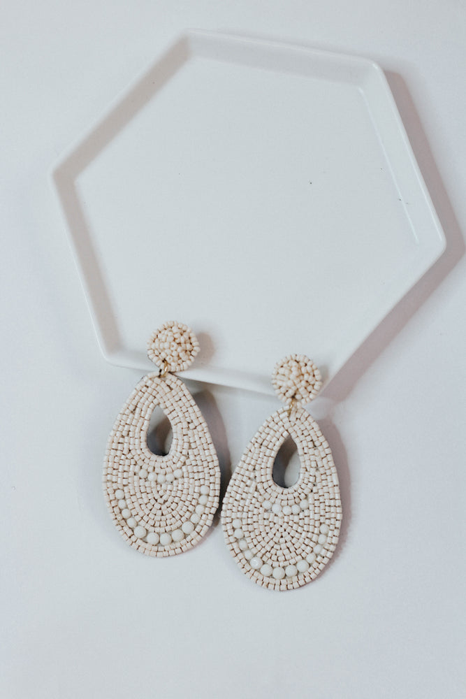 Granita Tear Drop Earring
