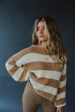 Leon Stripe Sweater