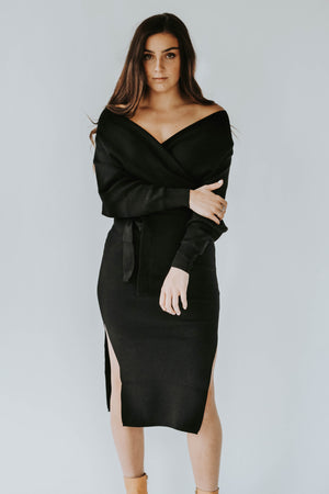 Day To Night Dress (Black)