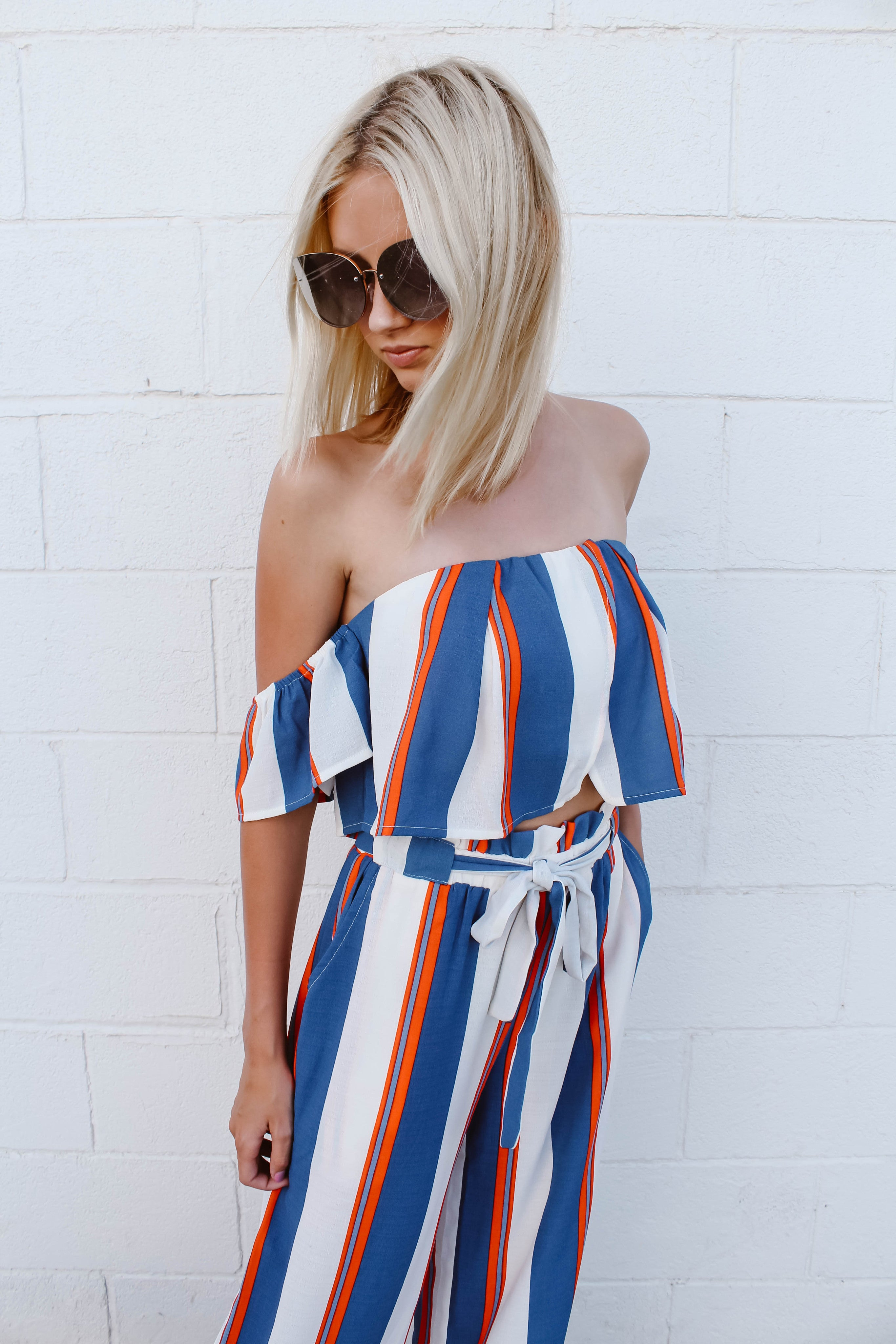 Happily Stripes Two Piece