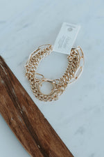 Multi Chain Gold Bracelet