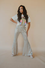 Party Girl Sequin Flares
