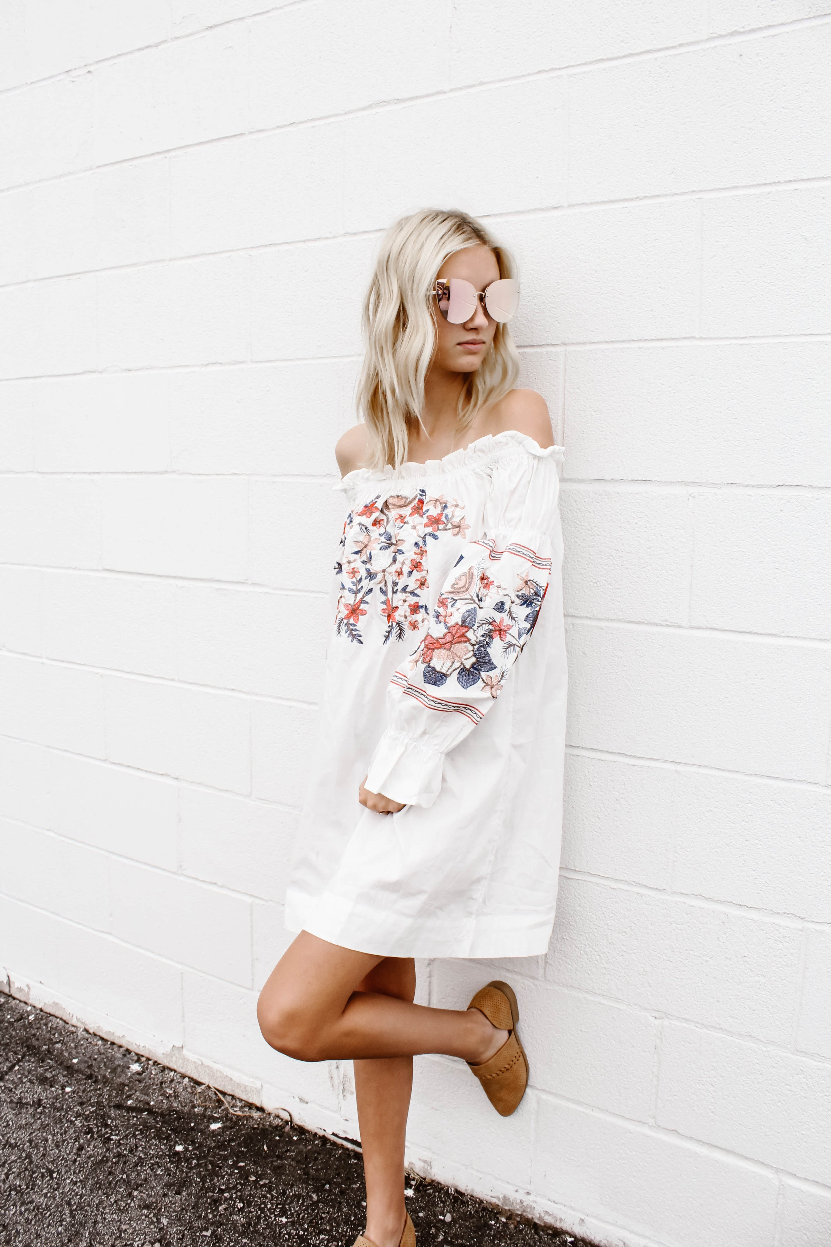 The Evangeline Dress (White)