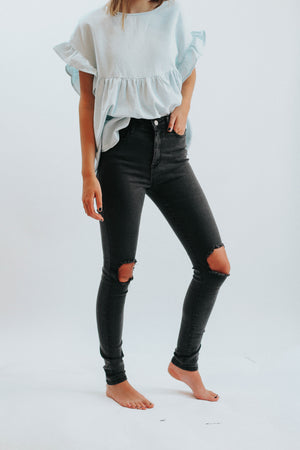 Legend High Rise Black Skinny