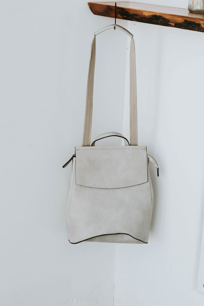 Kenny Convertible Back Pack (Stone) - RESTOCKED