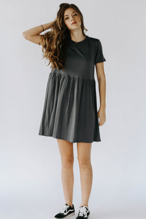 Griffin T-Shirt Dress (Grey)