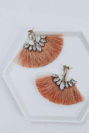 Stone Coral Earrings