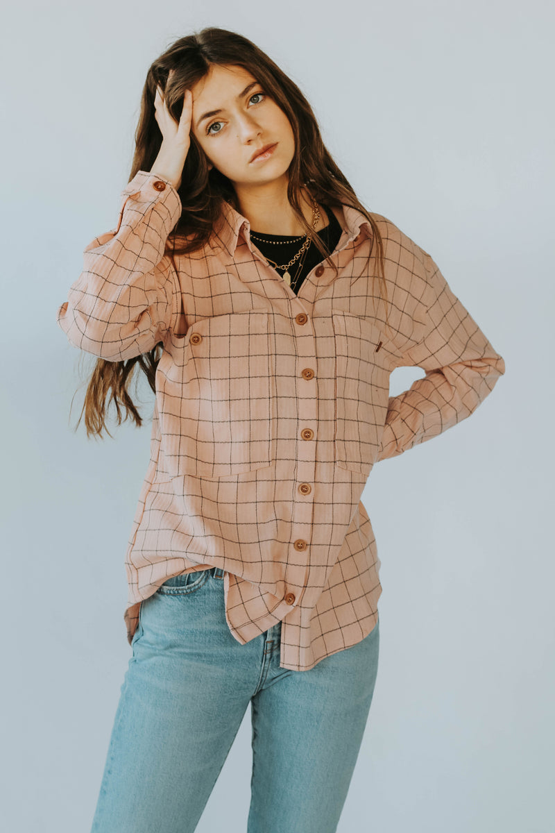 Woodsy Button Down Sweater