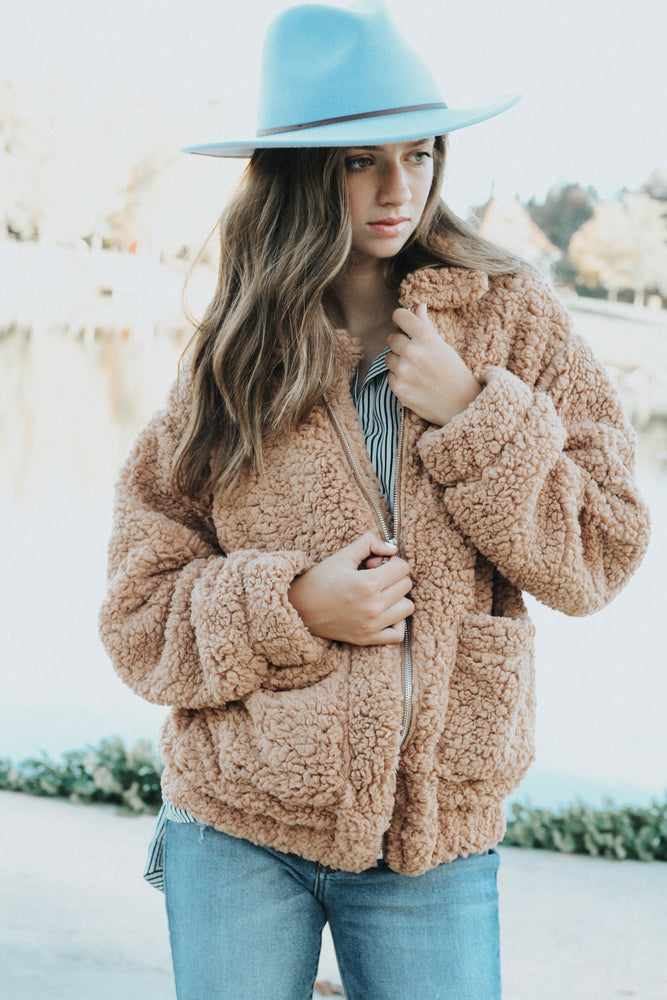 Lizzie Teddy Coat