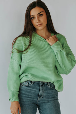 Brixton Sweater (Honeydew)