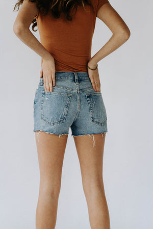 Free People: Sophia Denim Shorts