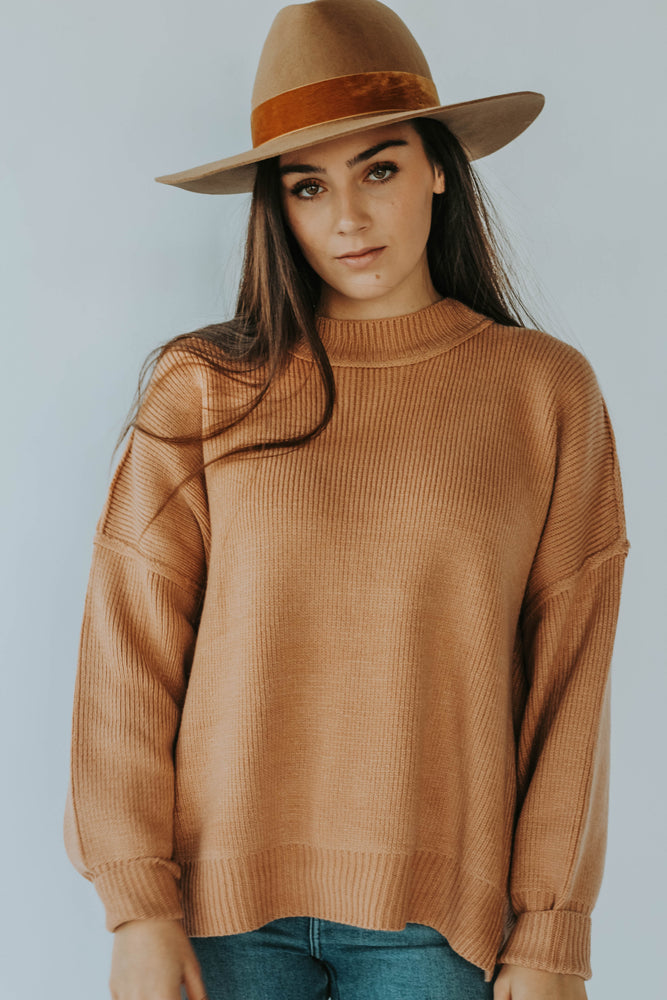 Brixton Sweater (Camel)
