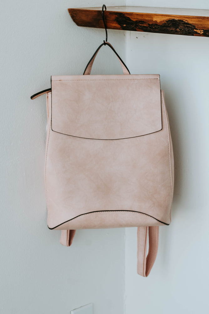 Kenny Convertible Back Pack (BLUSH)