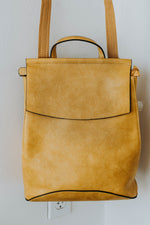 Kenny Convertible Back Pack (Mustard)