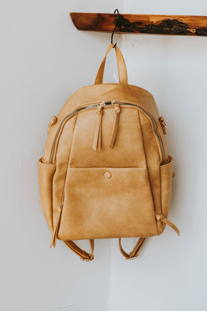 Ophelia Convertible Back Pack (Nude)