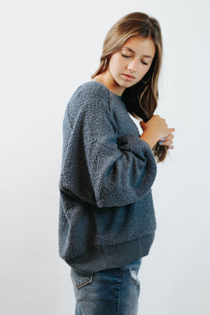 Lazy Gal Sweatshirt (Midnight Blue)